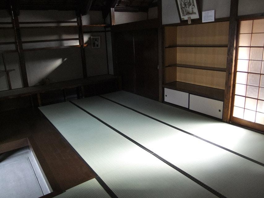 畳を張り替えた展示場