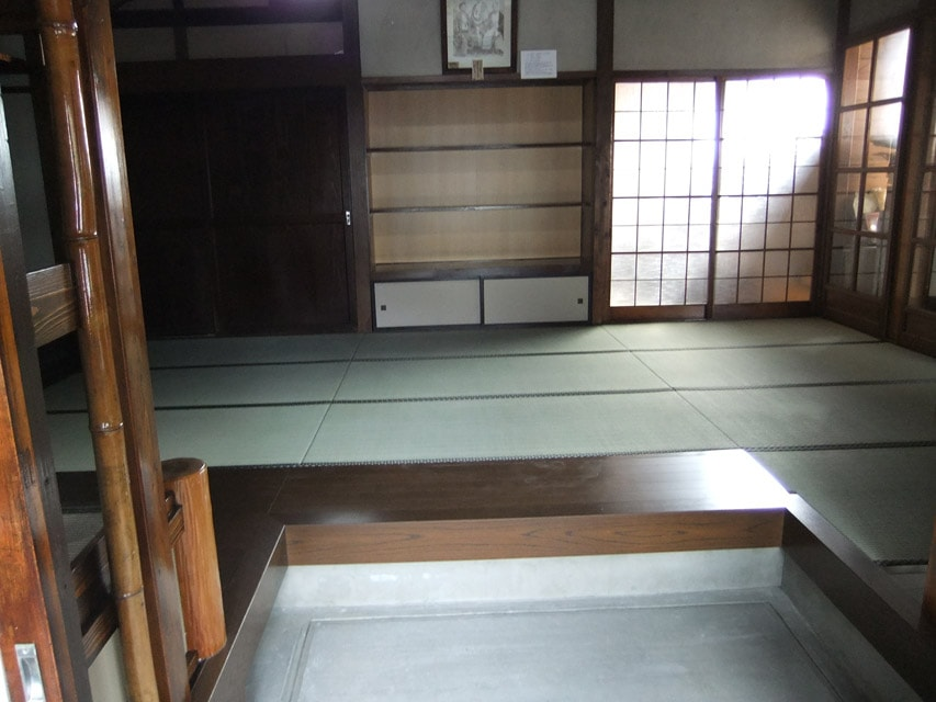 畳を張り替えた展示場2
