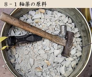 釉薬の原料